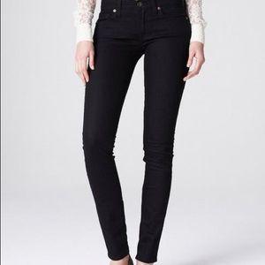 Sofia skinny Lucky Brand black jeans size 12/31